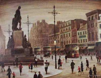 Manchester Piccadilly Street Scene - Delaney